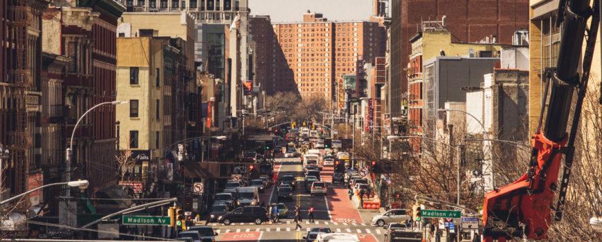 Harlem architecture by Duston Aksland for Lufthansa magazin artlcle